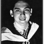 "Leon Ma. Guerrero, from his College yearbook as reproduced in Erwin S. Fernandez's ""The Originary Filipino: Rizal and the Making of Leon Ma. Guerrero as Biographer,"" Philippine Studies, Vol.  57 No. 4 (2009)"